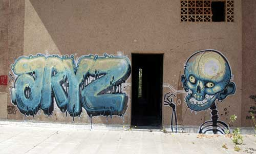 Aryz, arte urbano, España, digerible