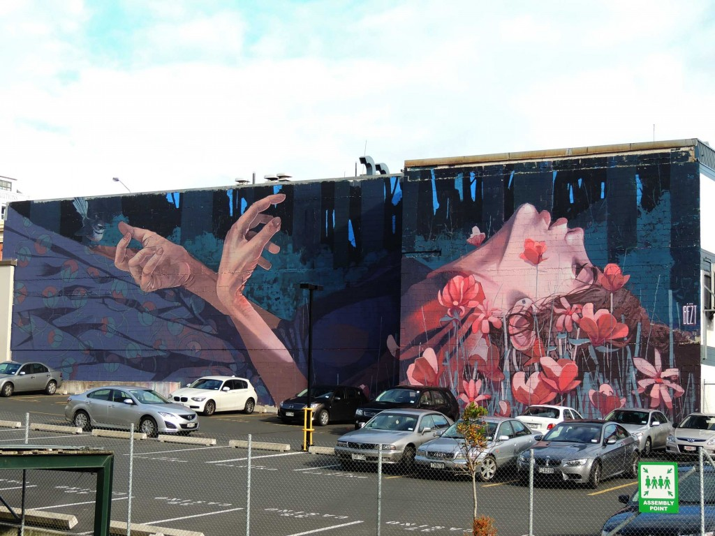 Betz, arte urbano, Nueva Zelanda, digerible