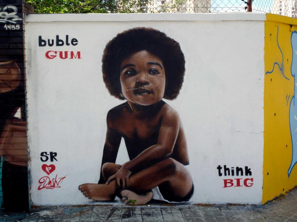 Arte urbano Barcelona, Bublegum, Digerible
