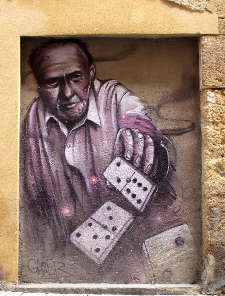 Gaser, arte urbano, Tarragona, digerible