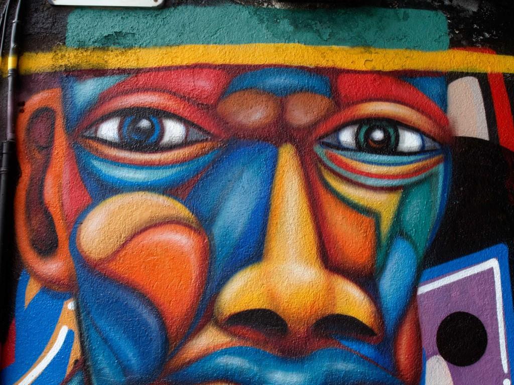 Sebastien Waknine Arte urbano Barcelona, digerible
