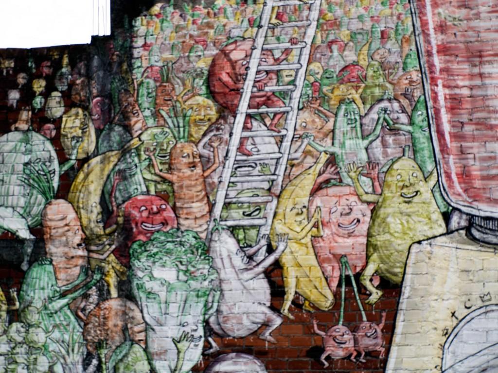 Arte urbano, Blu, Galicia , digerible