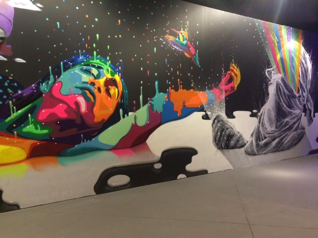 Dasic Fernández, Arte urbano, Chile, Digerible