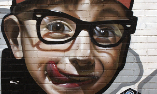 Belin, Arte Urbano, Almería, España, digerible