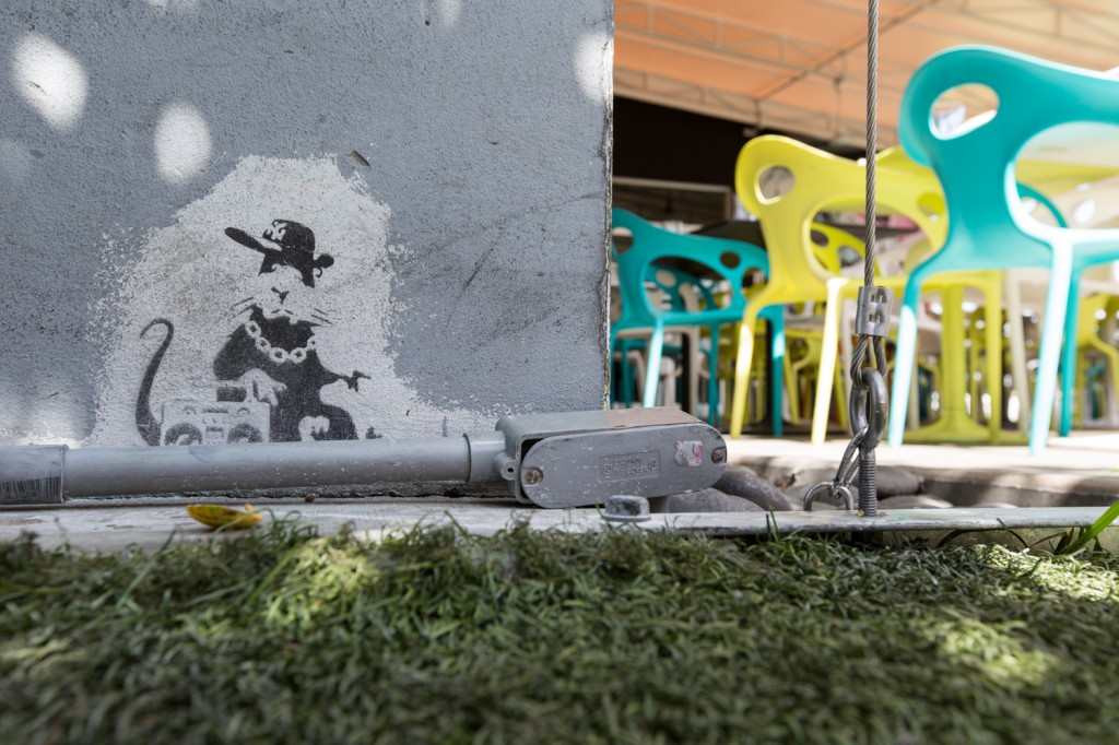 Arte urbano Banksy, Digerible