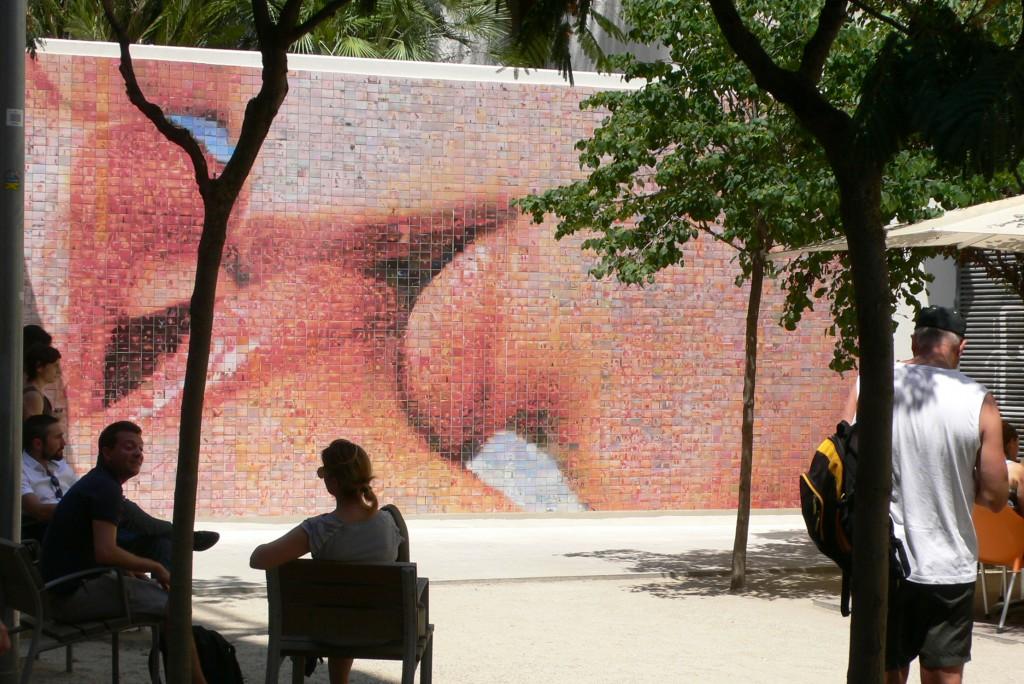 Joan Fontcuberta, arte urbano Barcelona, digerible