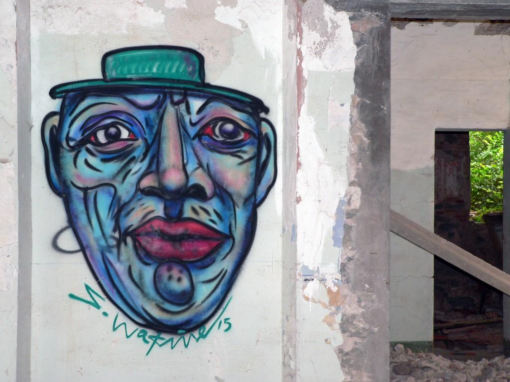 Arte urbano Barcelona,  digerible