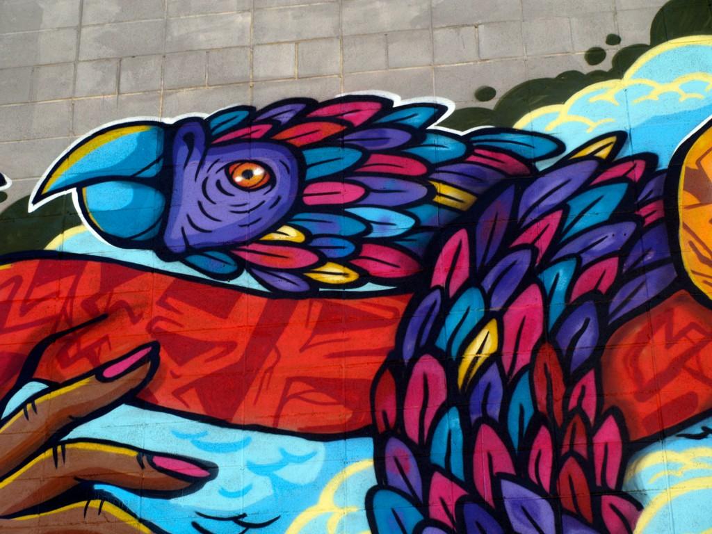 Arte urbano, Pedro Porto, Barcelona, Digerible