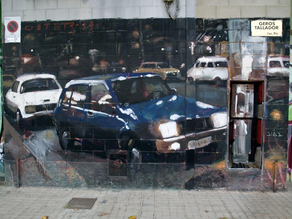 Arte urbano, Mataró, digerible