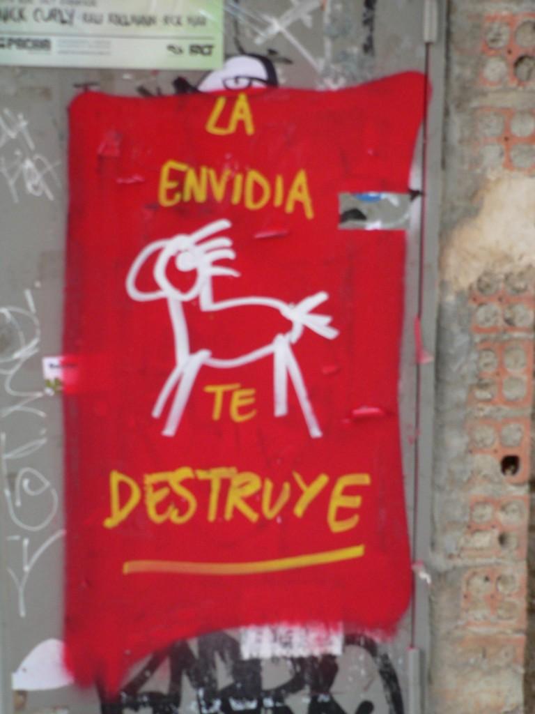 Arte urbano, ART is TRASH, Barcelona, digerible