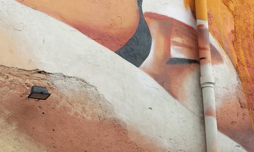 Arte urbano Barcelona, Manumanu, digeribleArte urbano Barcelona, Manumanu, digerible