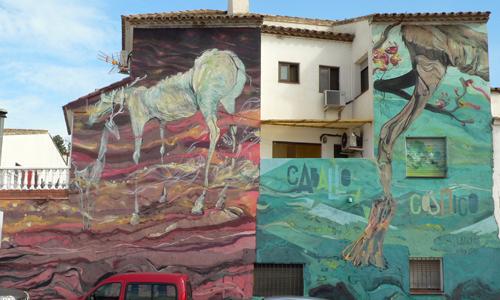 Laguna & Xabier Xtrm, arte urbano Fanzara, Valencia, Digerible