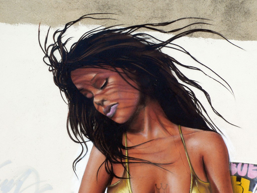 Bublegum & Hisem, arte urbano Cantallops, Barcelona
