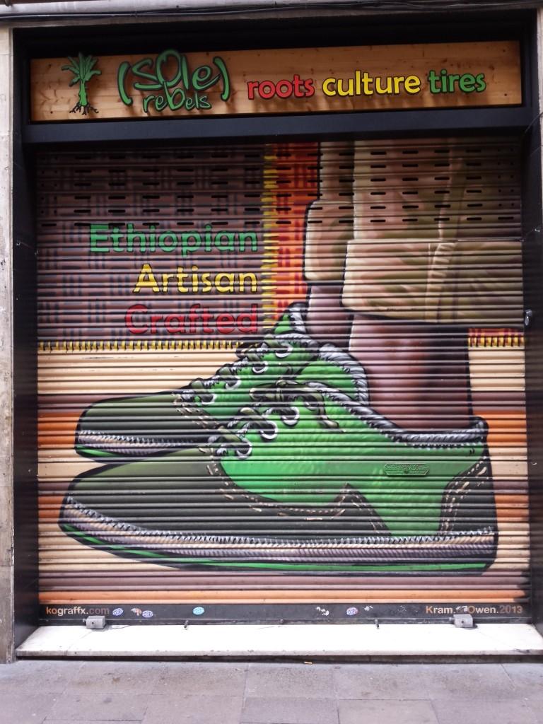 Arte urbano en Barcelona, Fiesta de Gràcia 2015