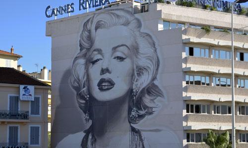 Patrick Commecy, arte urbano en Cannes, Francia