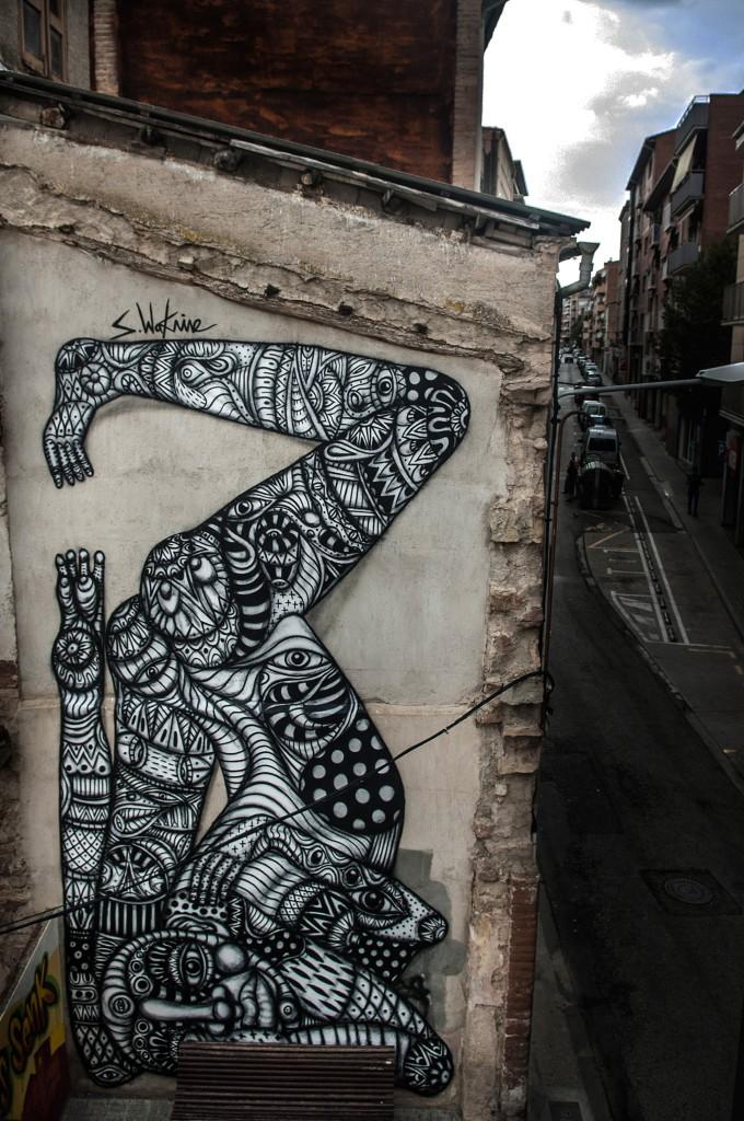 Sebastien Waknine, arte urbano ManresaSebastien Waknine, arte urbano Manresa