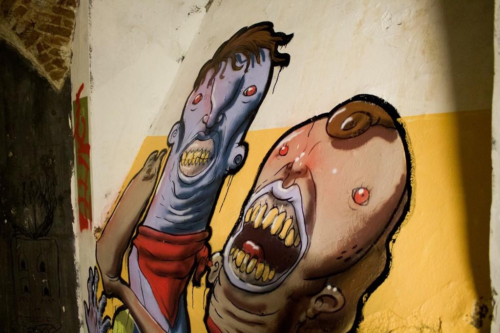 Simón Vázquez, arte urbano en Madrid