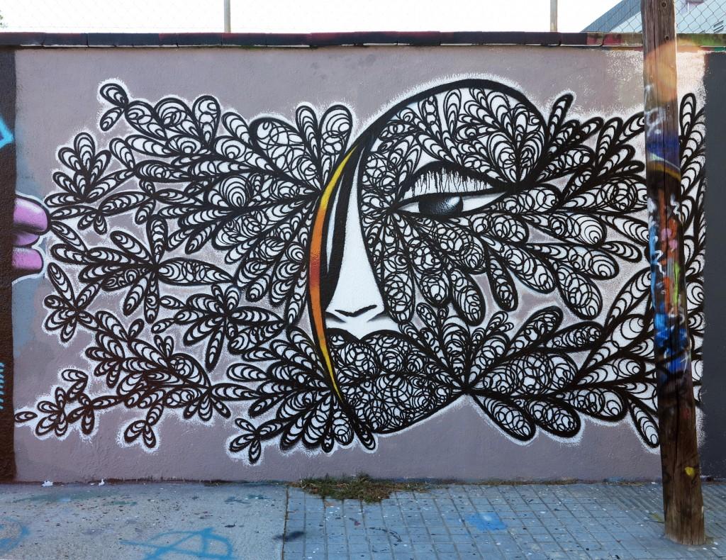Anja, arte urbano Barcelona