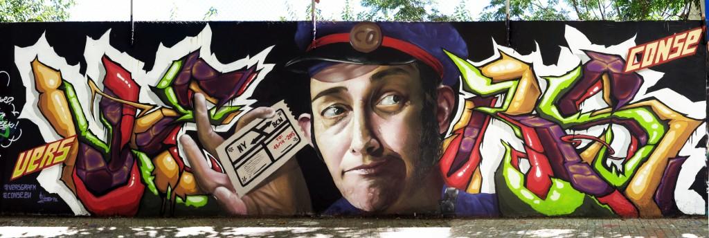 Conse & Vers, arte urbano Barcelona