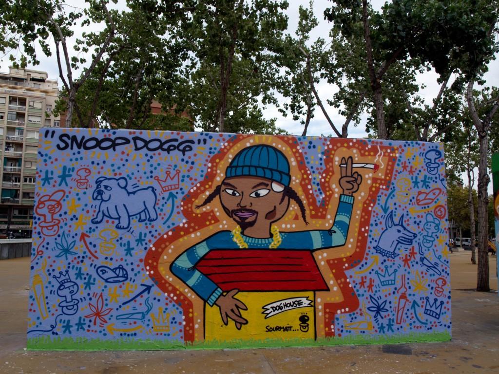 El Xupet Negre, Arte urbano en Barcelona