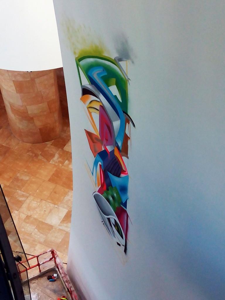 Ati Diallo y DoctaWear, arte urbano Bilbao