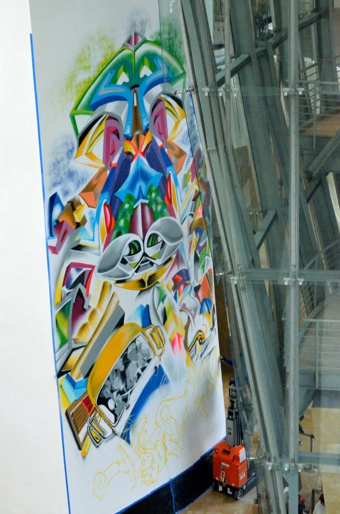 Docta y Ati Diallo, arte urbano Bilbao