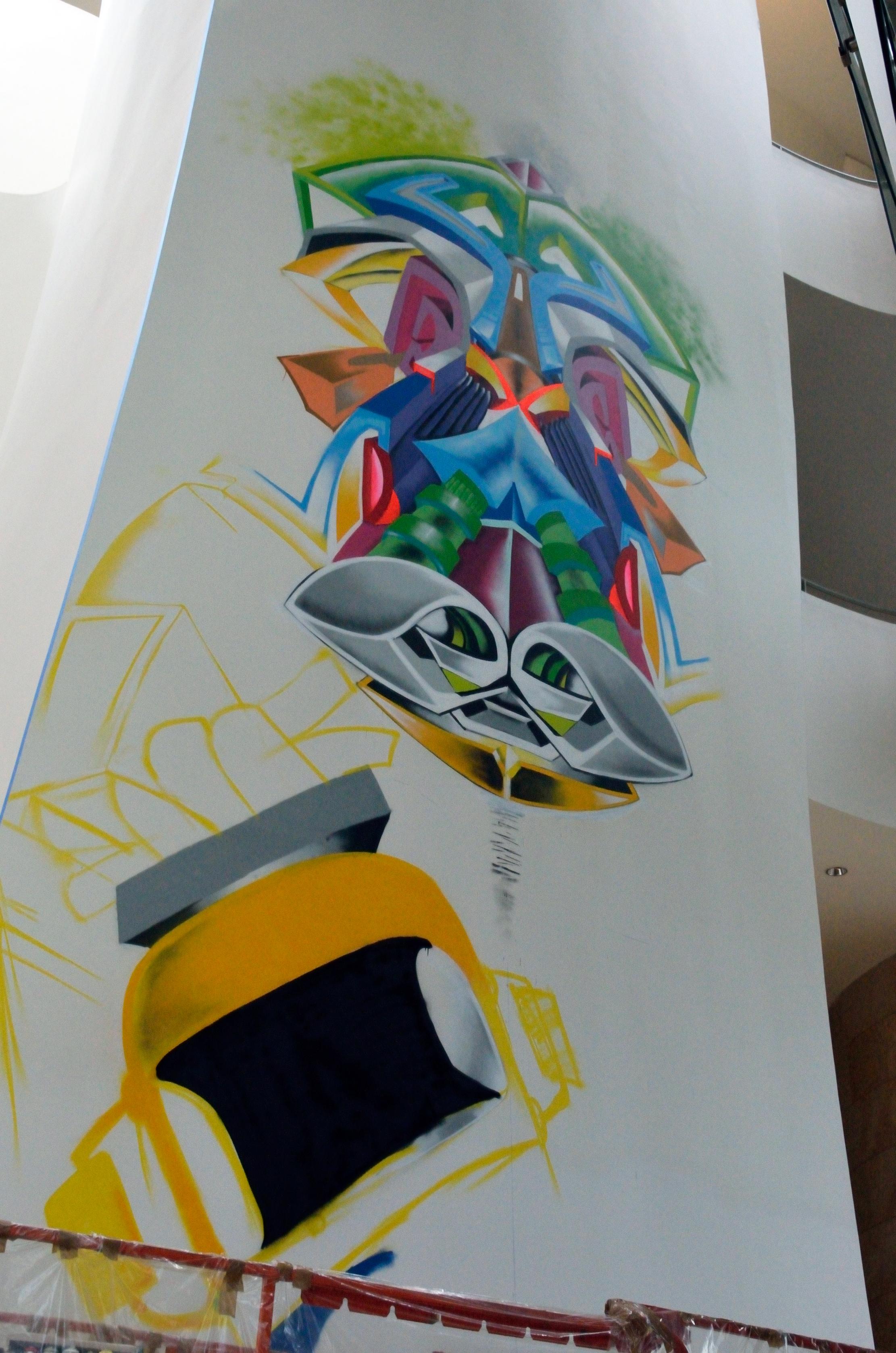 Ati Diallo y Docta Wear, arte urbano Bilbao