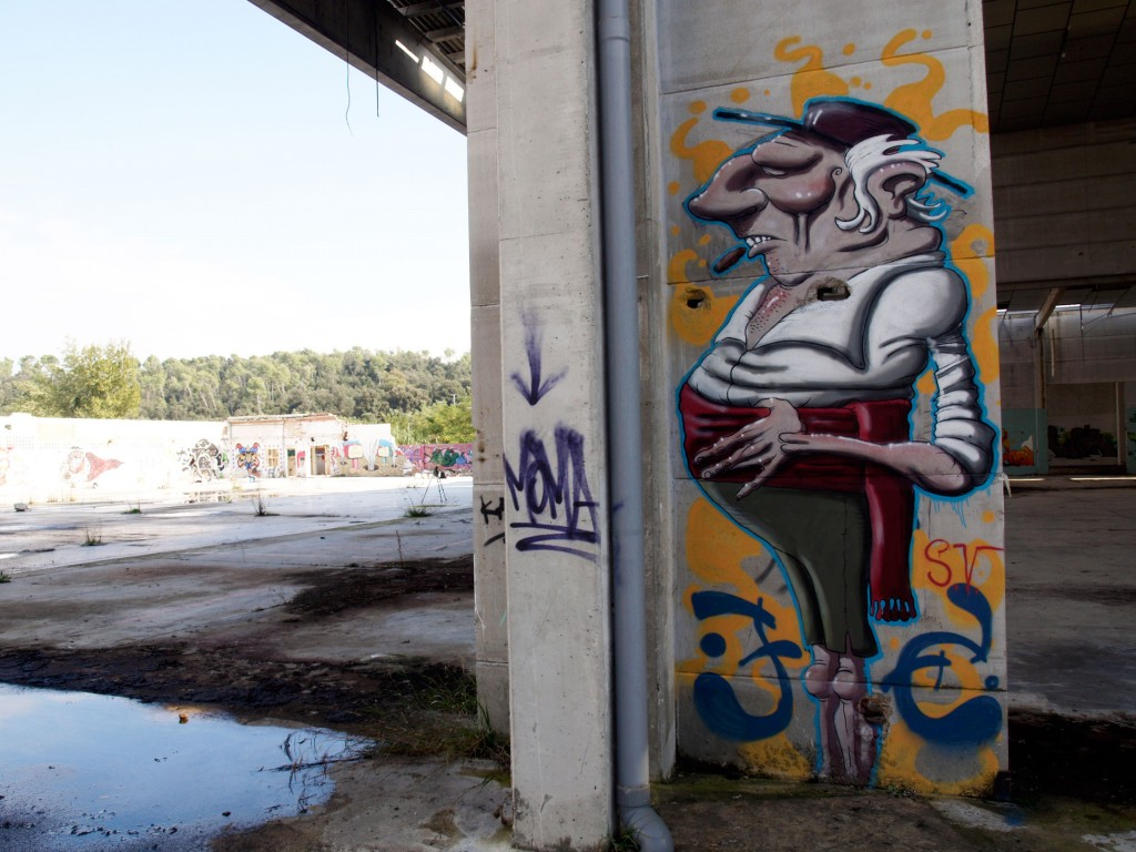 Simón Vázquez, arte urbano Barcelona