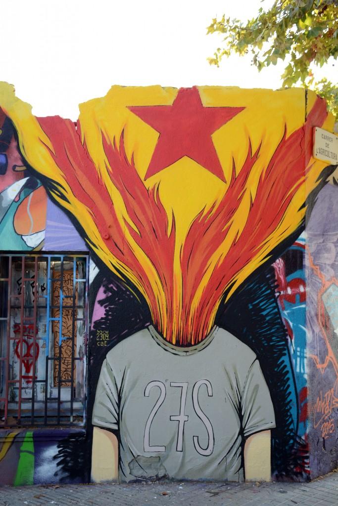 Enric Font, arte urbano en Barcelona