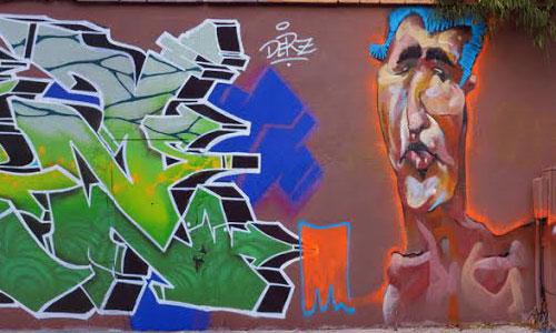 ManuManu, Arte urbano en Barcelona