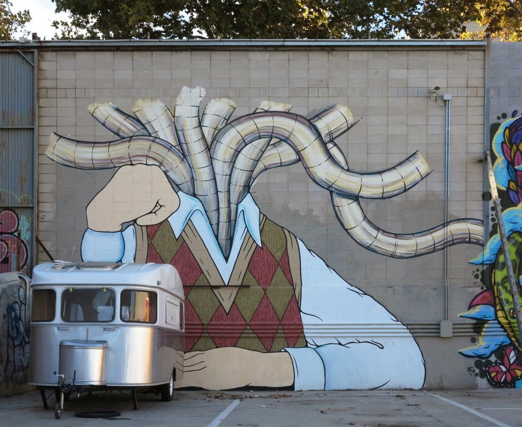Arte urbano Barcelona, Enric Font