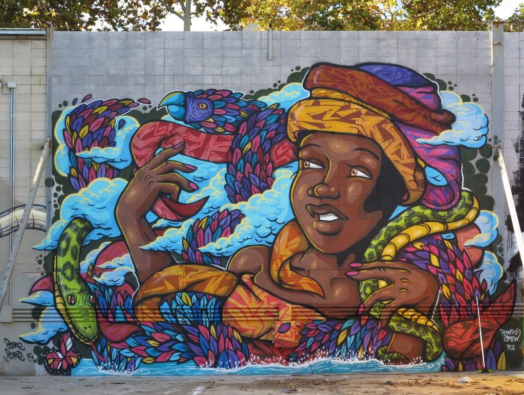Arte urbano Barcelona, Pedro Porto