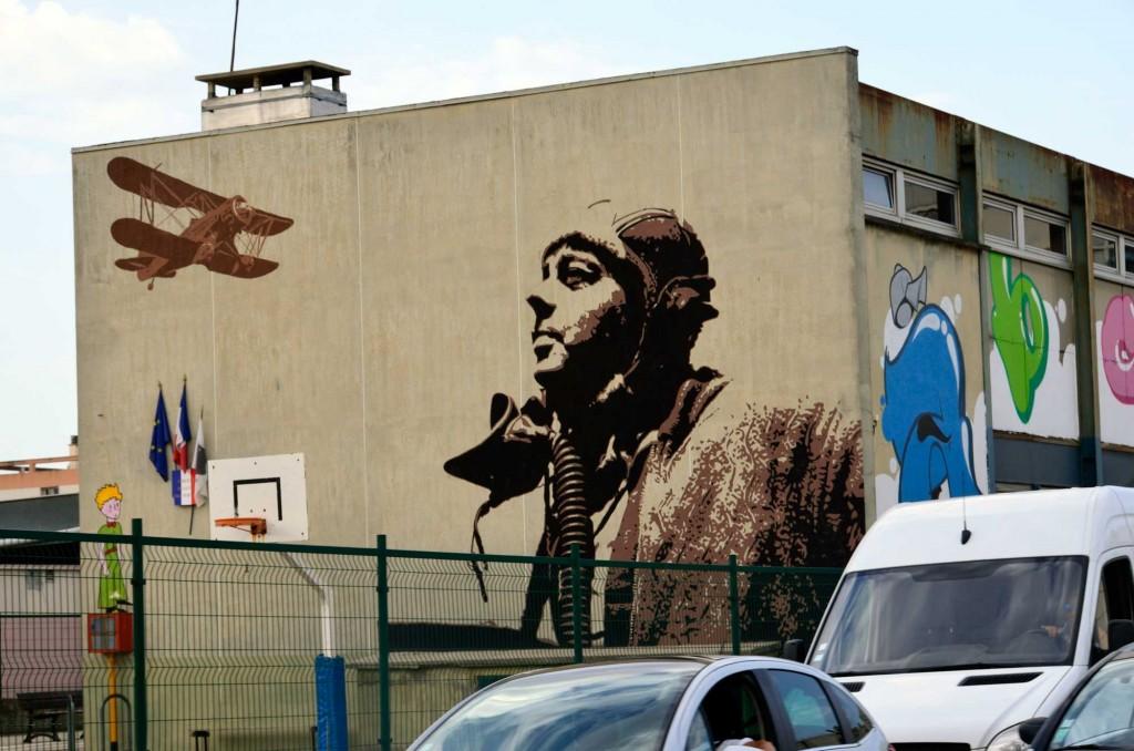 Ajaccio, Corsica, Francia arte urbano