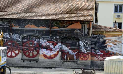Arte urbano, Ajaccio