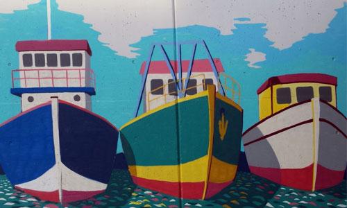 arte urbano en Pilar de la Horadada
