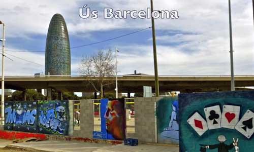 Ús Barcelona 2014, arte urbano