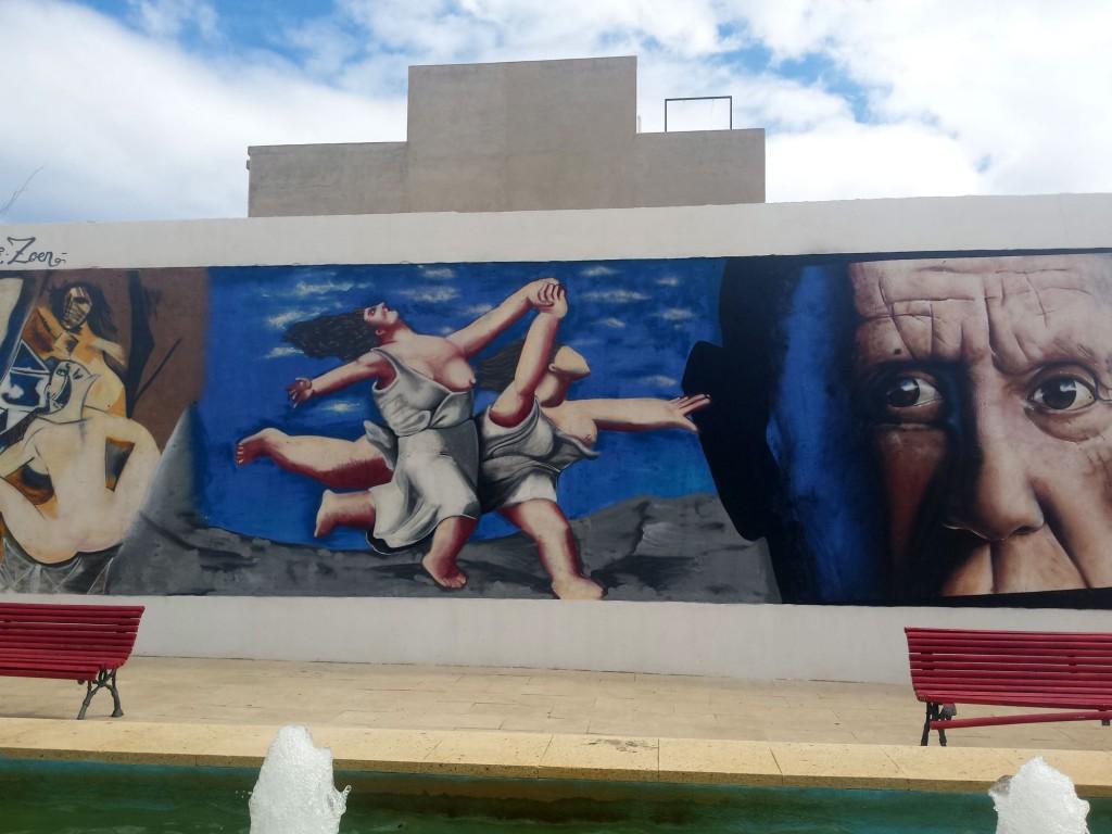 Nauni, arte urbano en Almería