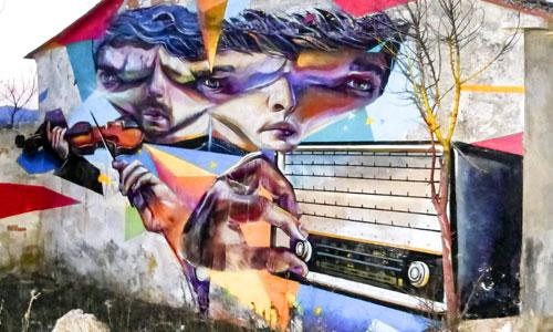 Mr. Trazo, arte urbano en España