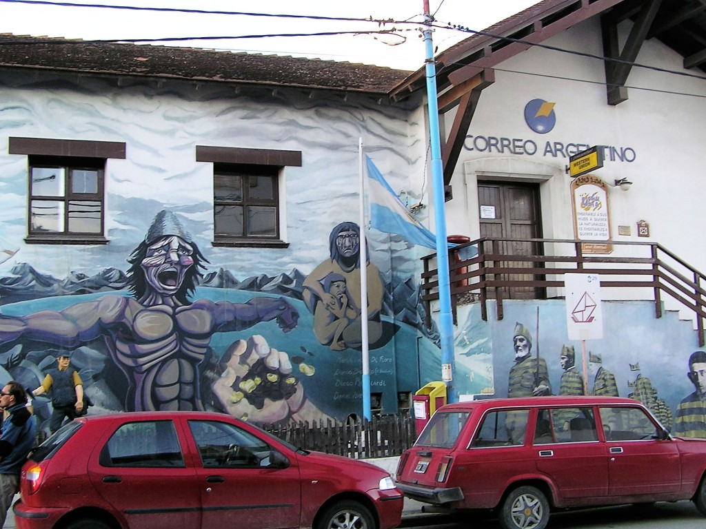 Arte urbano en Ushuaia, Argentina