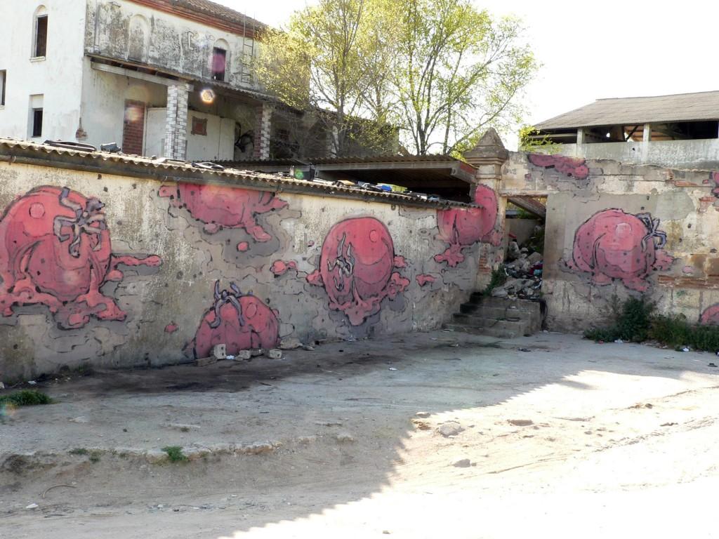 Mixed Media, arte rubano en España