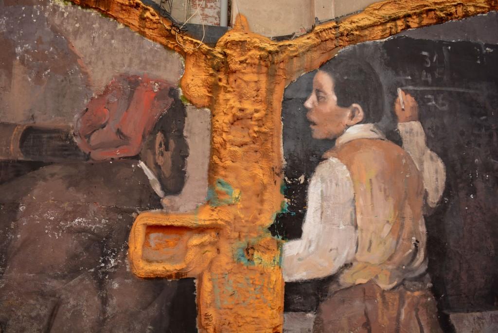 Mohamed LGhacham, arte urbano en Barcelona