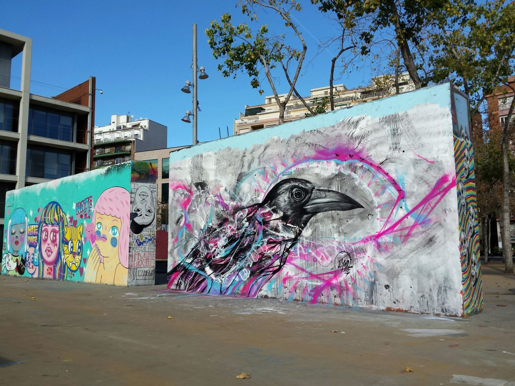 L7m arte urbano Barcelona