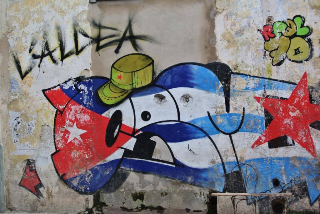 Arte urbano en Cuba