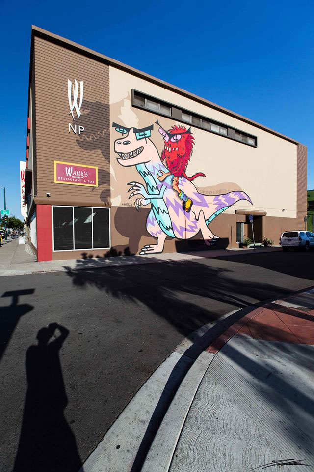 Madsteez arte urbano San Diego USA
