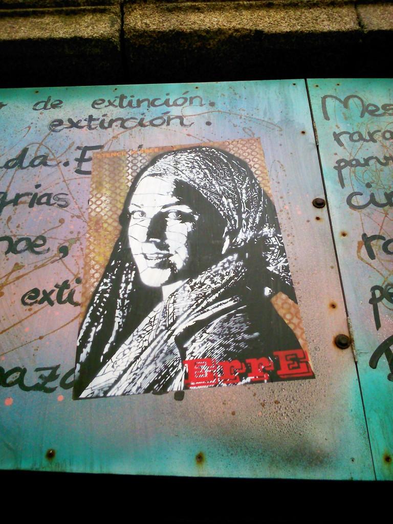 ErrE arte urbano en Galicia