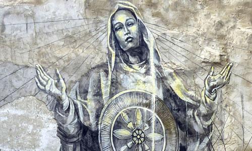 Faith47 arte urbano en España