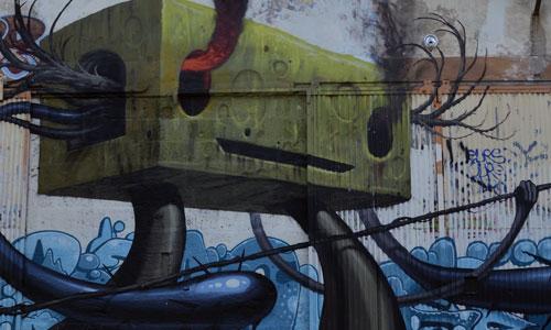 Arte urbano en Bordeaux, Francia