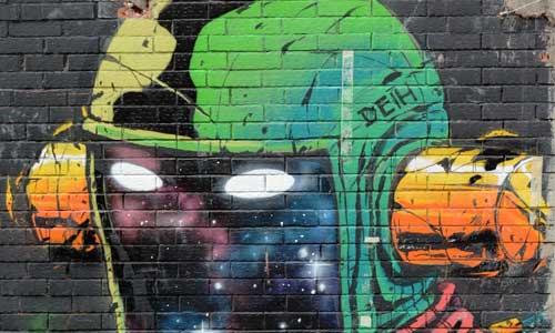 Deih arte urbano en Madrid
