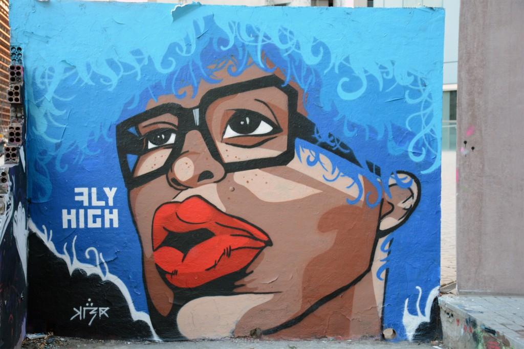 Chiara KLER Frei arte urbano en Barcelona
