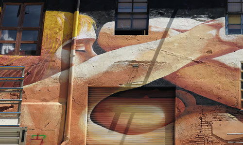 ManuManu, arte urbano Barcelona